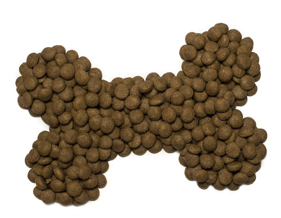 Virbac dog food shaped like a bone. Pattenden Vets sell Virbac products and offer clients a loyalty discount scheme.