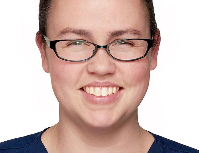 Harriett Westgate, Veterinary nurse at Pattenden vets.