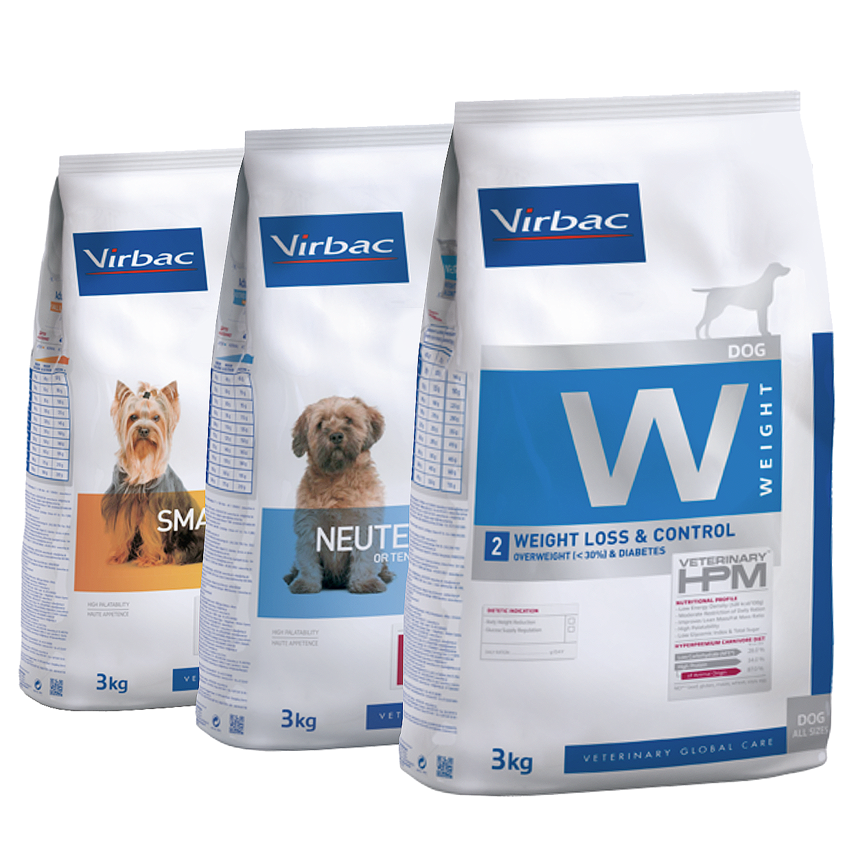 Virbac pet food, available to purchase at Pattenden Vets in Marden.