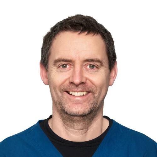 Rob Everitt. Veterinary surgeon at Pattenden Vets in Marden, Kent.